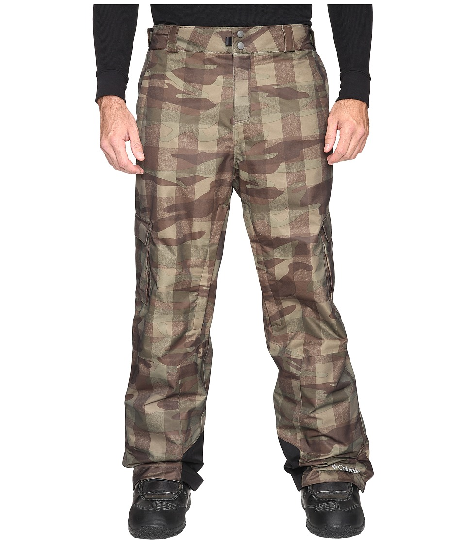 Columbia - Big Tall Ridge 2 Run II Pant (Peatmoss Buffalo Camo) Men's Casual Pants