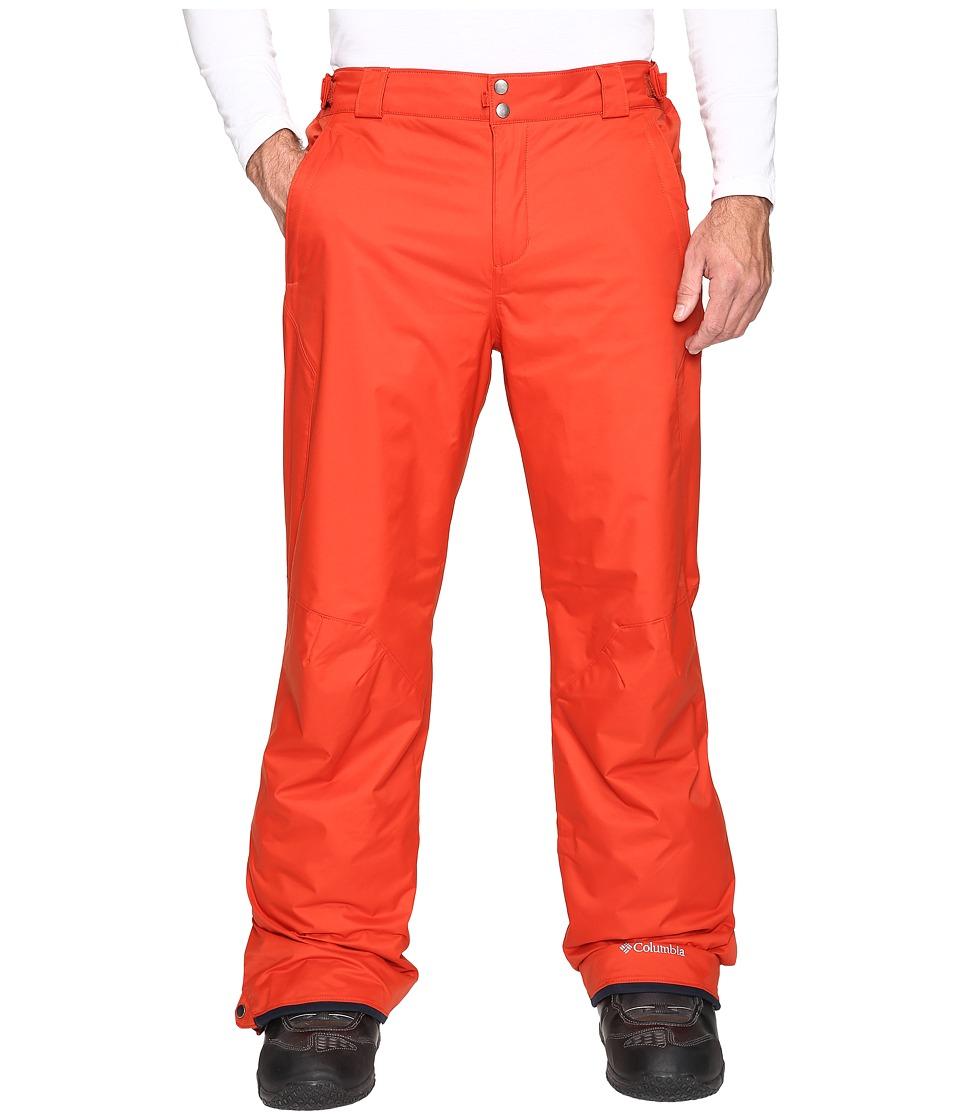 Columbia - Big Tall Bugaboo II Pant (Rust Red) Men's Casual Pants