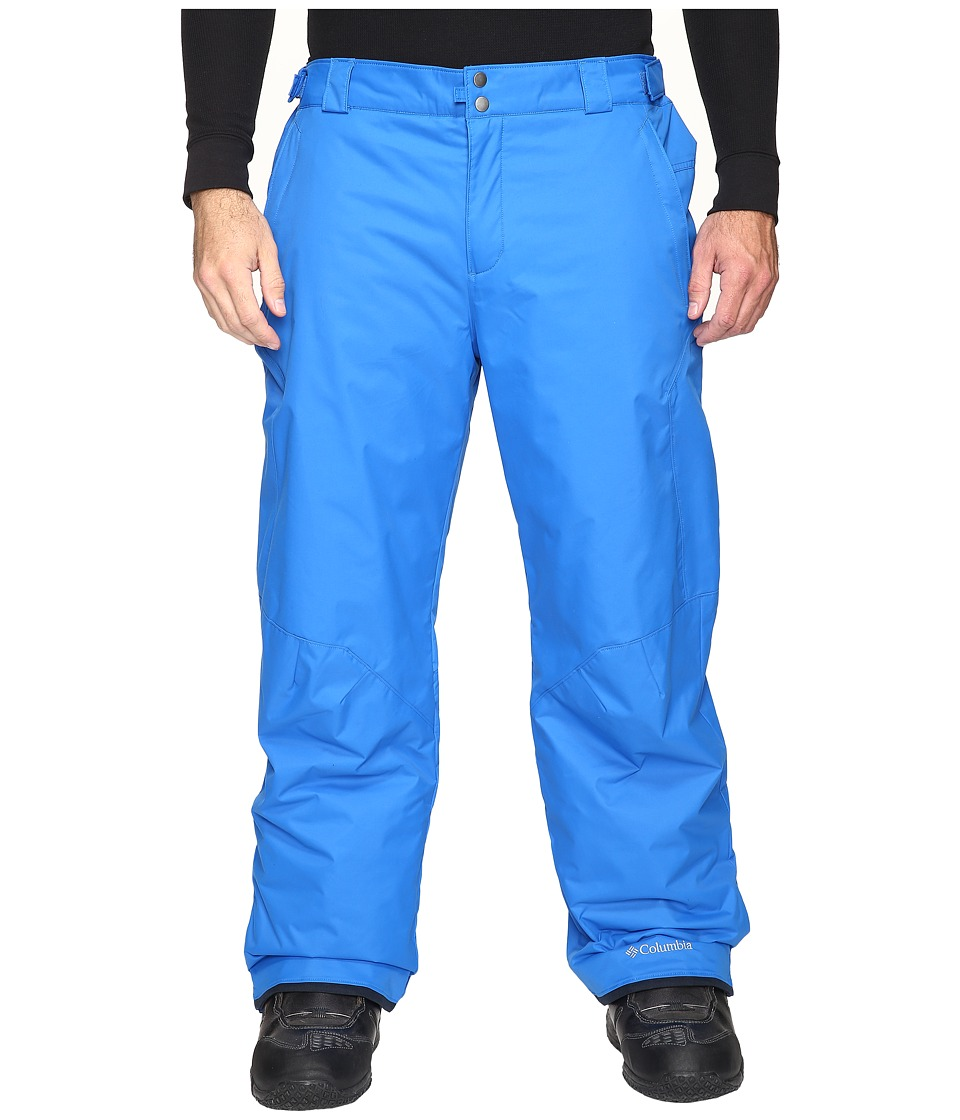 Columbia - Bugaboo II Pant - Tall (Super Blue) Men's Outerwear
