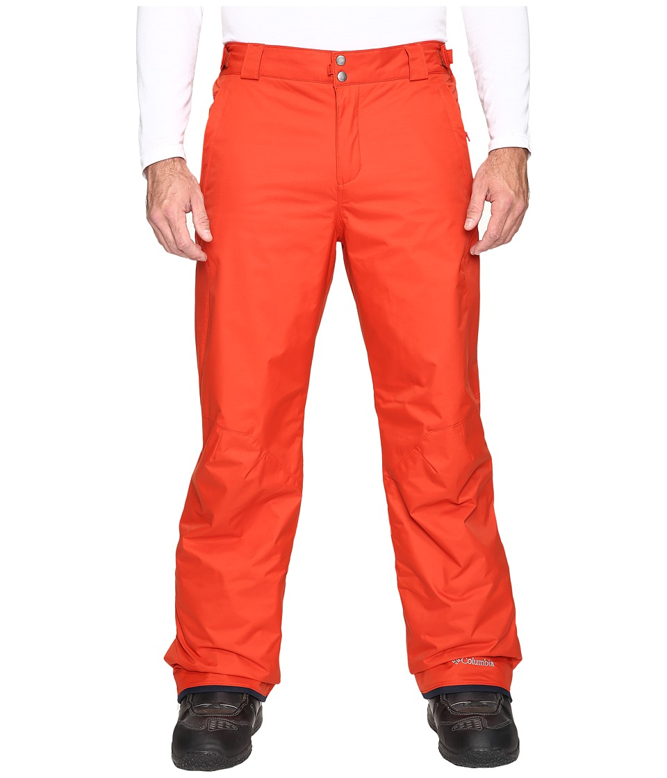Columbia - Bugaboo II Pant - Tall (Rust Red) Men's Outerwear