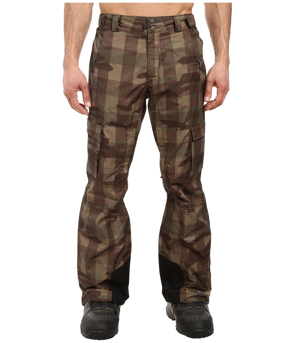 Columbia - Ridge 2 Run II Pant (Peatmoss Buffalo Camo) Men's Outerwear