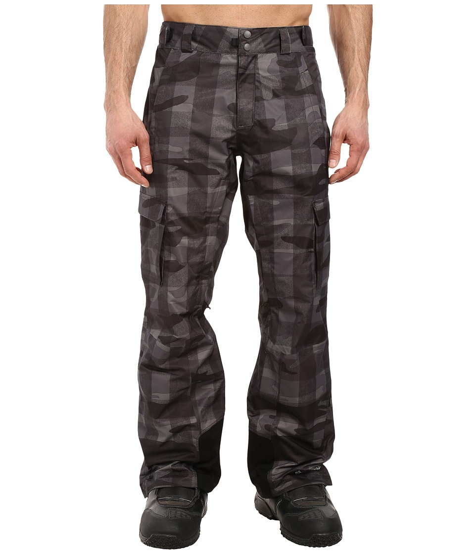 Columbia - Ridge 2 Run II Pant (Black Buffalo Camo) Men's Outerwear