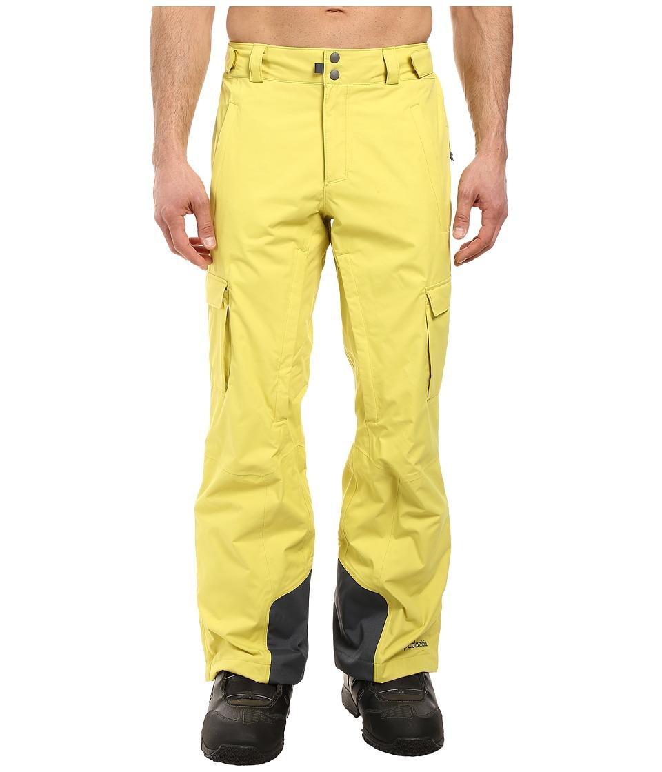 Columbia - Ridge 2 Run II Pant (Mineral Yellow) Men's Outerwear