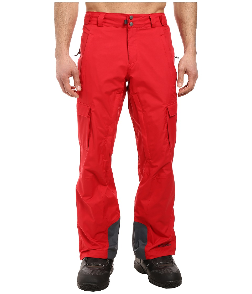 Columbia - Ridge 2 Run II Pant (Mountain Red) Men's Outerwear