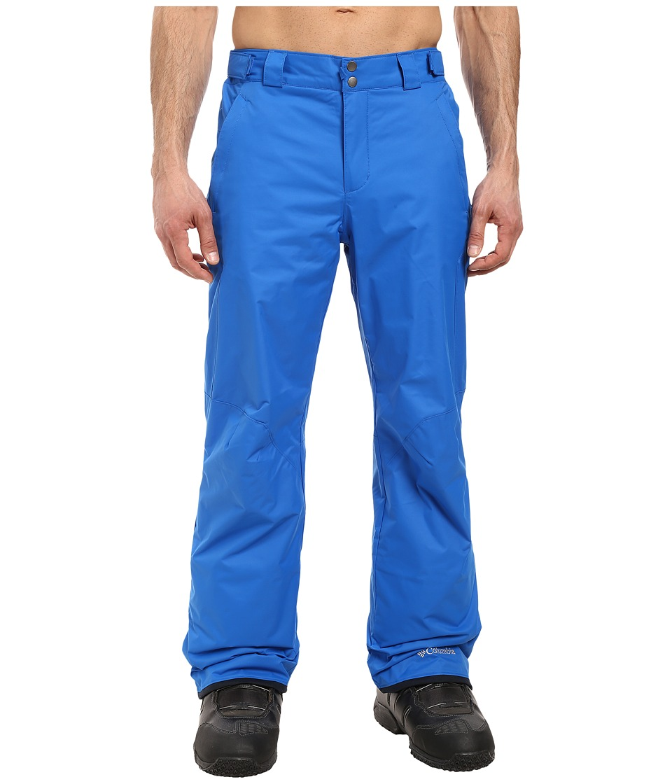 Columbia - Bugaboo II Pant (Super Blue) Men's Outerwear