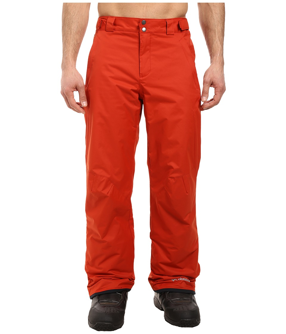 Columbia - Bugaboo II Pant (Rust Red) Men's Outerwear