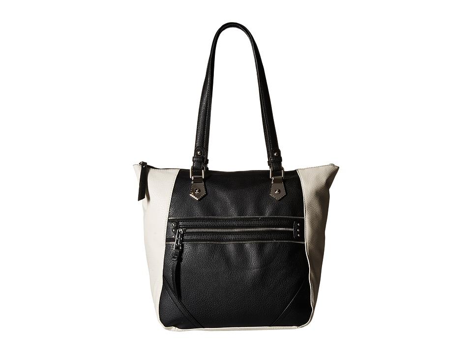 Jessica Simpson - Jolie Tote (Black/Ecru) Tote Handbags