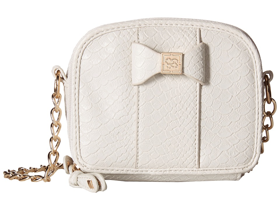 Jessica Simpson - Corrinne Box Mini Bag (Ecru) Cross Body Handbags