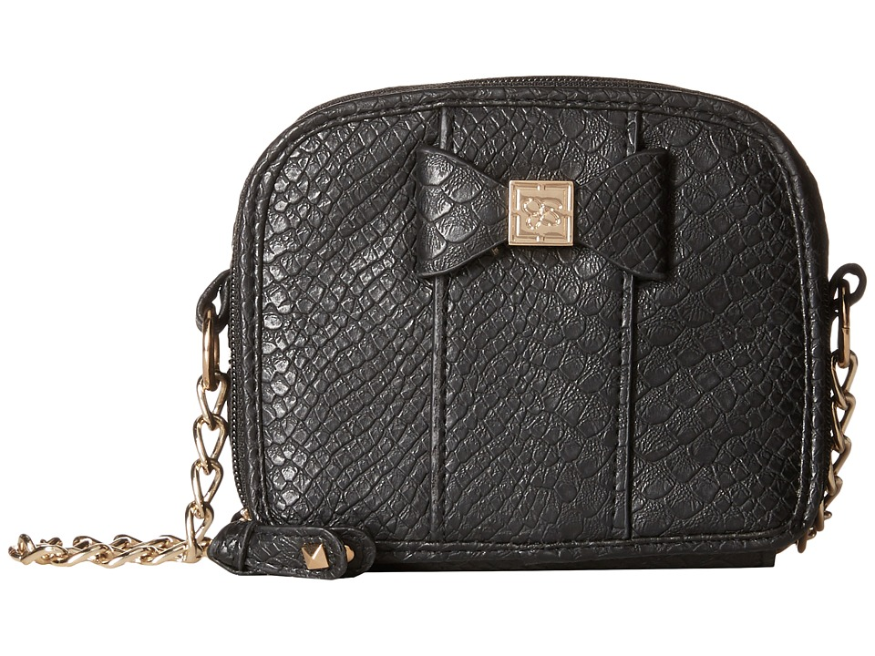 Jessica Simpson - Corrinne Box Mini Bag (Black) Handbags