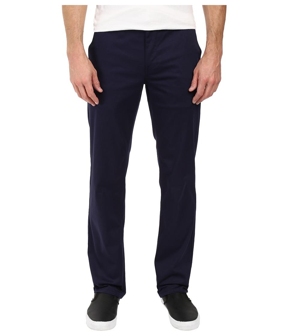 HUF - Fulton Chino Pants (Navy) Men's Casual Pants