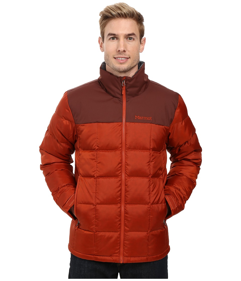 Marmot - Greenridge Jacket (Dark Rust/Marsala Brown) Men's Coat