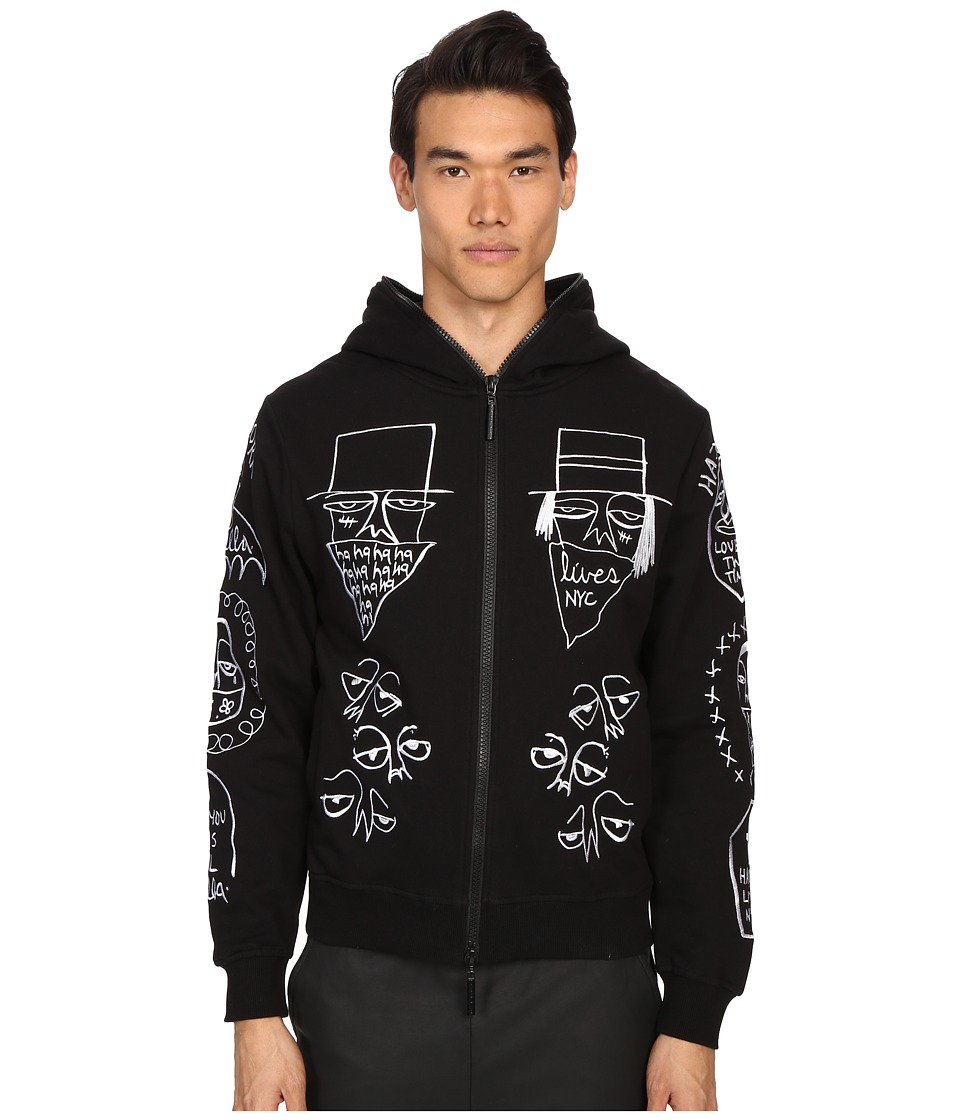 Haculla - NYC Tribe Hoodie (Black) Men's Sweatshirt