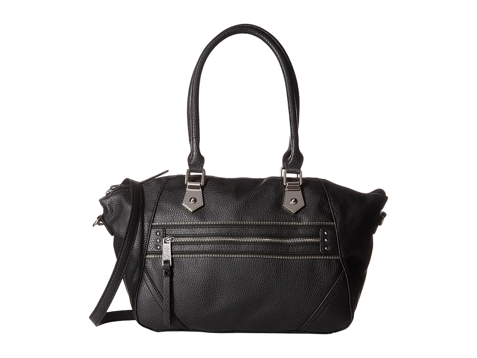 Jessica Simpson - Jolie Satchel (Black) Satchel Handbags