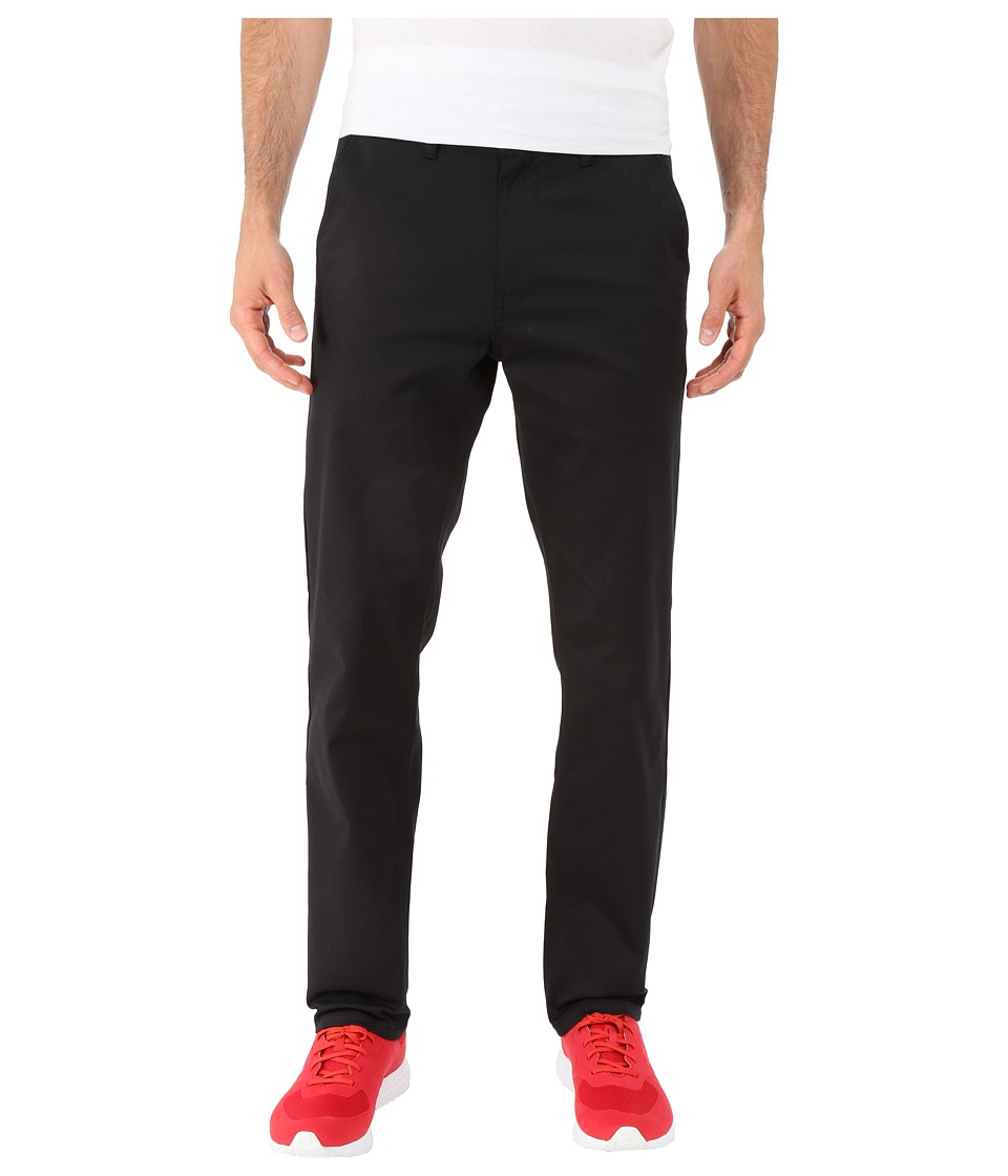 HUF - Fulton Chino Pants (Black) Men's Casual Pants