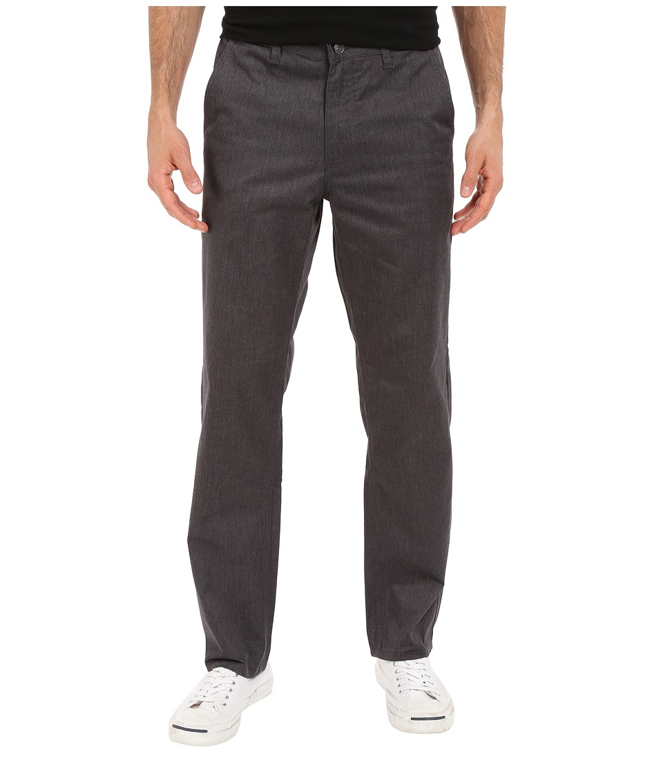 HUF - Fulton Chino Pants (Charcoal Heather) Men's Casual Pants
