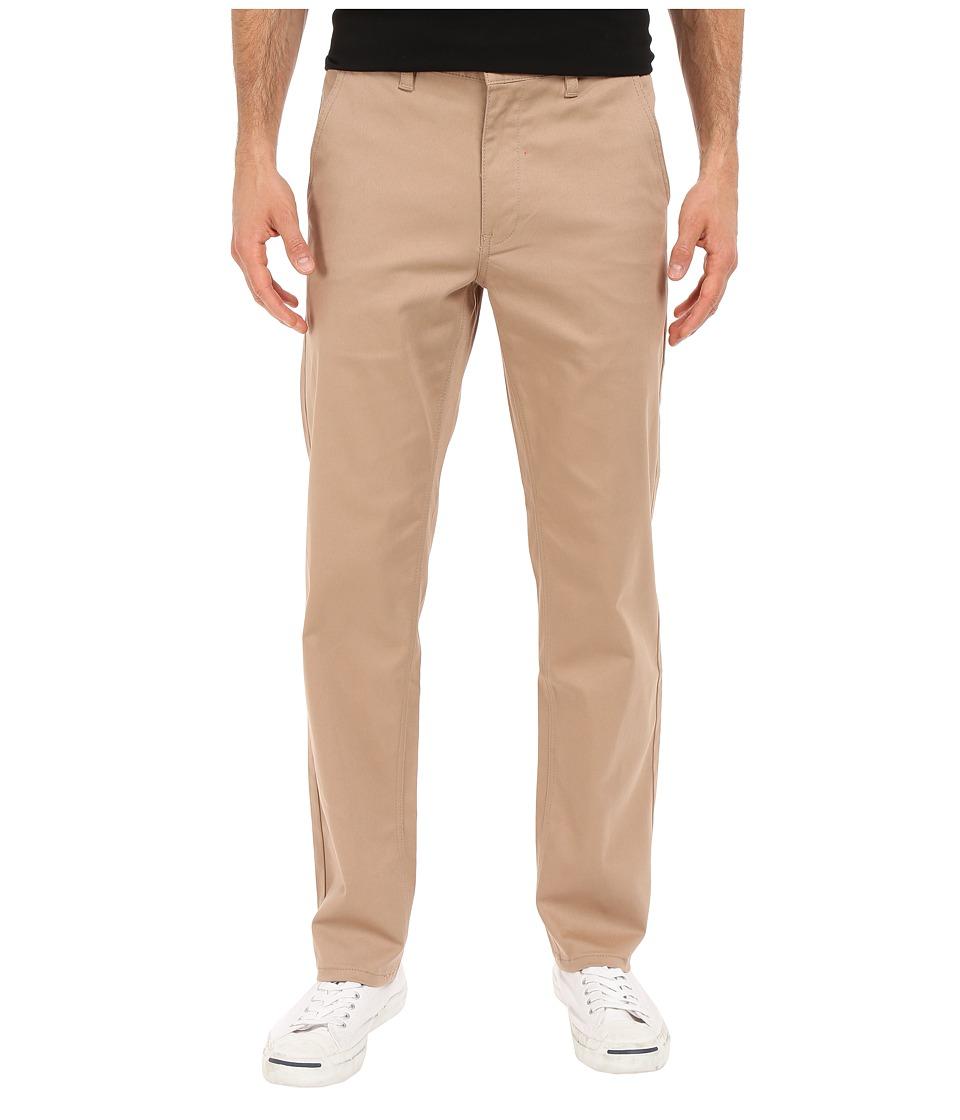 HUF - Fulton Chino Pants (Khaki) Men's Casual Pants