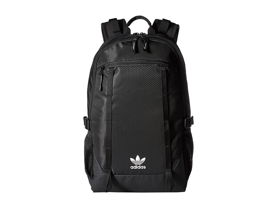 adidas - Originals Create Backpack (Black Triangle Emboss) Backpack Bags