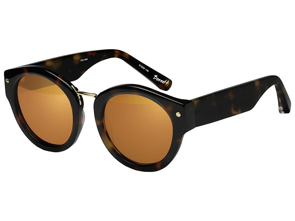 Elizabeth and James - Bennett (Tortoise/Gold Lens) Fashion Sunglasses