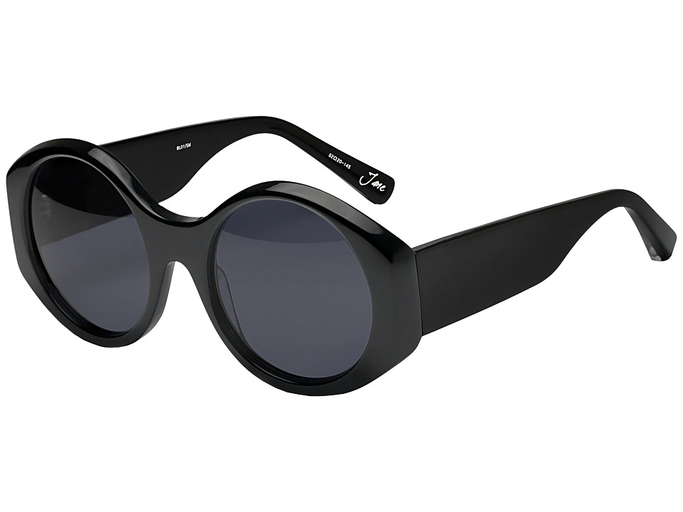 Elizabeth and James - Jane (Black/Blue Mono Lens) Fashion Sunglasses