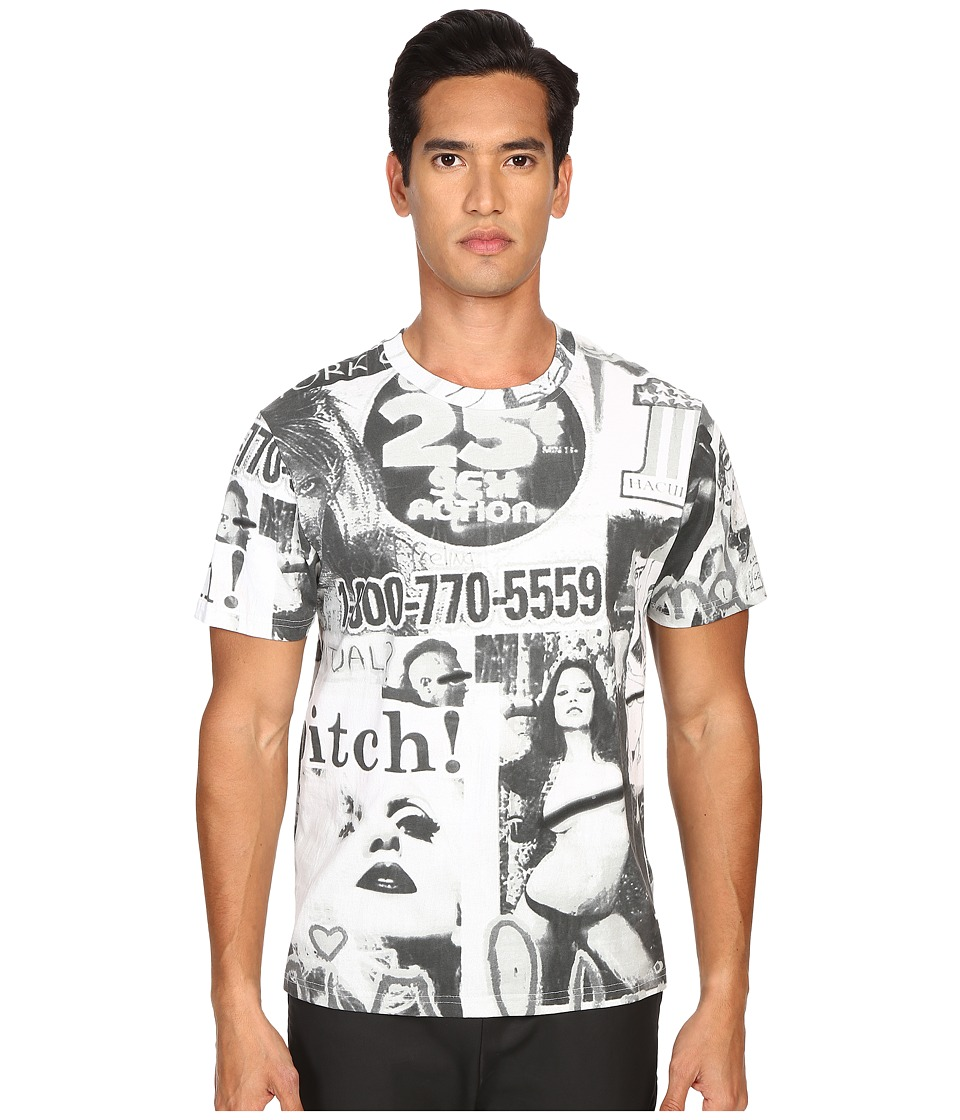 Haculla - NYC Collage Tee (Mix Grey) Short Sleeve Pullover