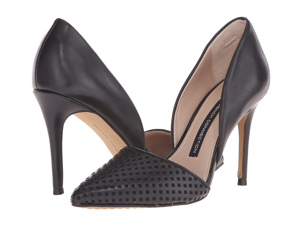 French Connection - Elvia Bin (Black) Women's Shoes