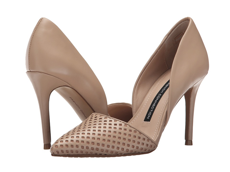 French Connection - Elvia Bin (Almost Nude) Women's Shoes