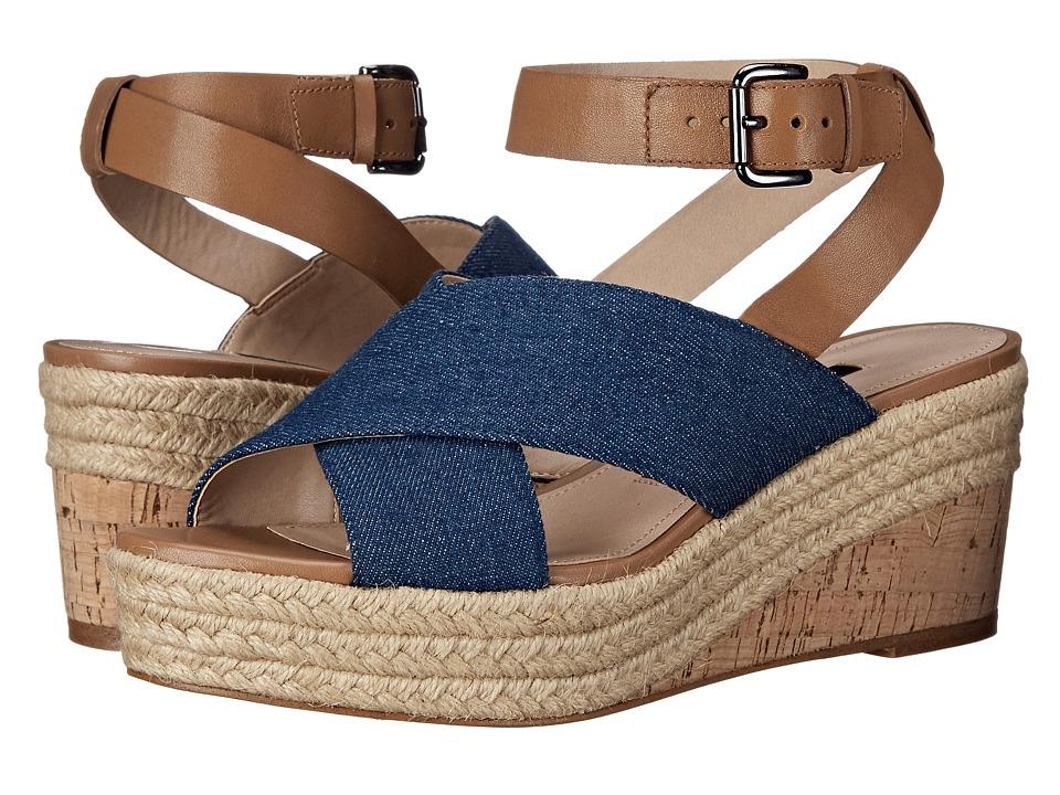 French Connection - Liora (Light Indigo/Safari) Women's Shoes