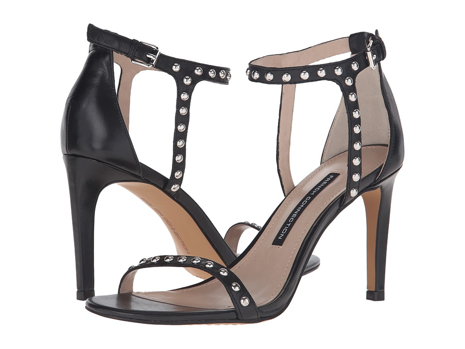 French Connection - Libby (Black) Women's Shoes