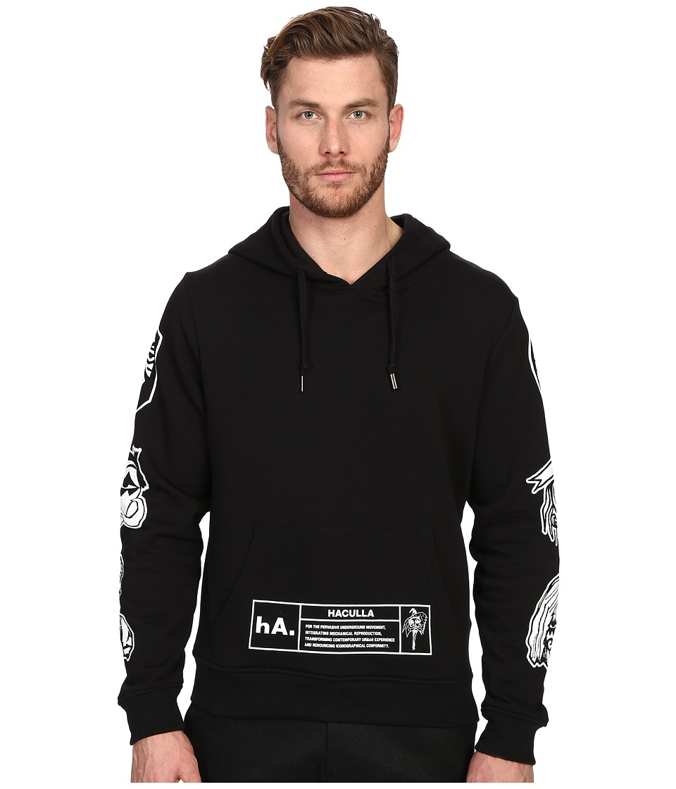 Haculla - NYC Hoodie (Black) Men's Sweatshirt