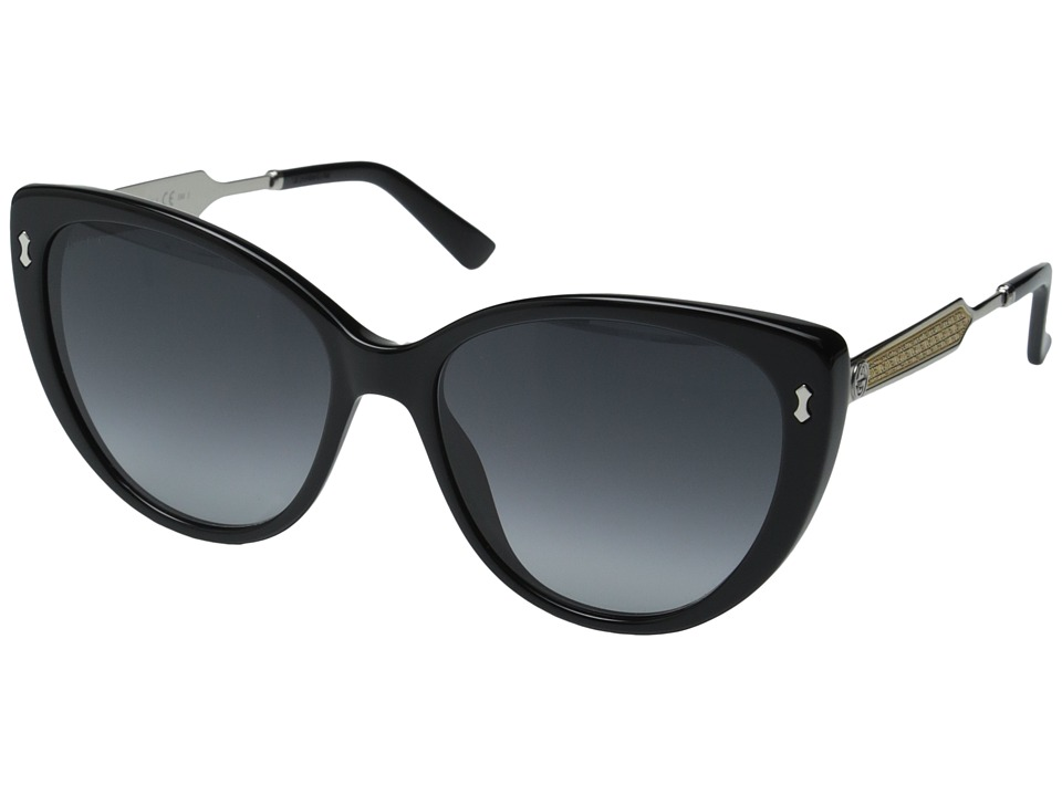 Gucci - GG 3804/S (Black Palladium/Dark Gray Gradient) Fashion Sunglasses