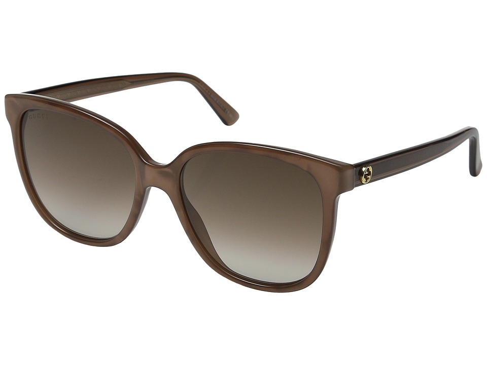 Gucci - GG 3819/S (Brown Mother-of-Pearl/Brown Gradient) Fashion Sunglasses