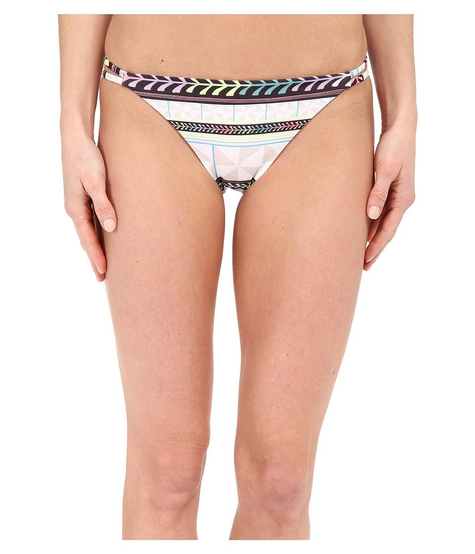 Mara Hoffman - Spaghetti Side Strap Bottom (Pinwheel Stone) Women's Swimwear