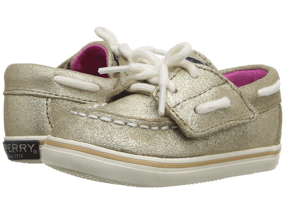 Sperry Top-Sider Kids - Bahama Crib Jr. (Infant/Toddler) (Platinum) Girls Shoes