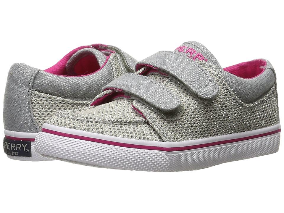 Sperry Kids - Hallie HL (Toddler/Little Kid) (Metallic) Girl's Shoes
