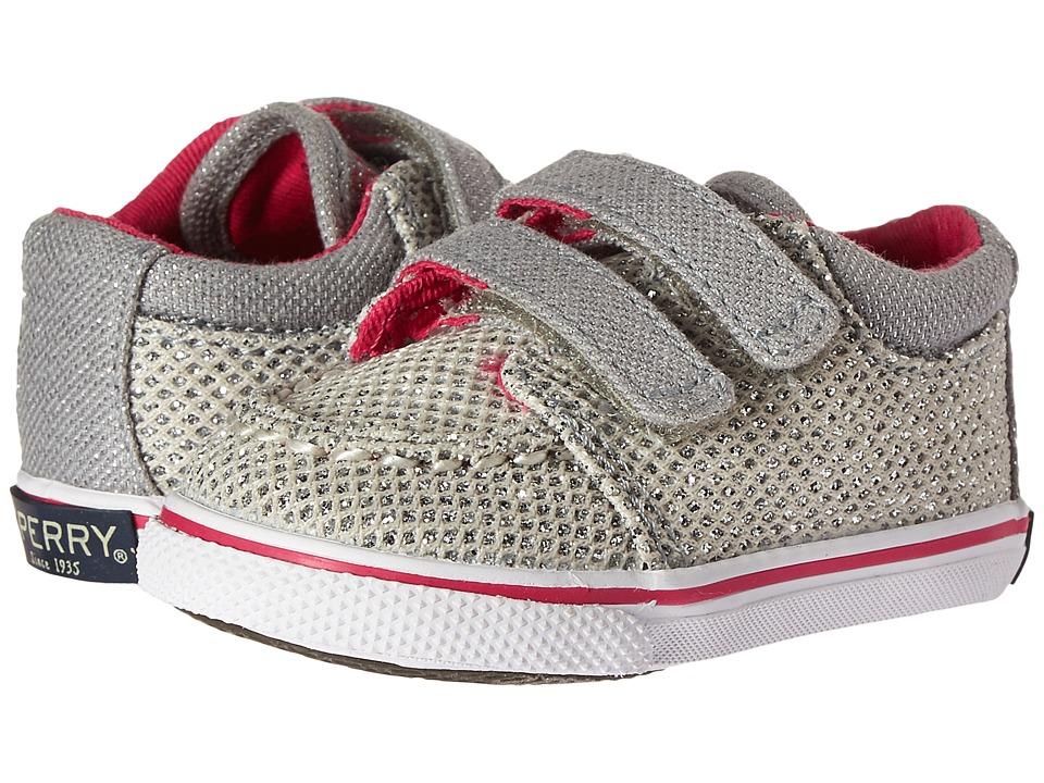 Sperry Kids - SP-Hallie Crib HL (Infant/Toddler) (Metallic) Girl's Shoes