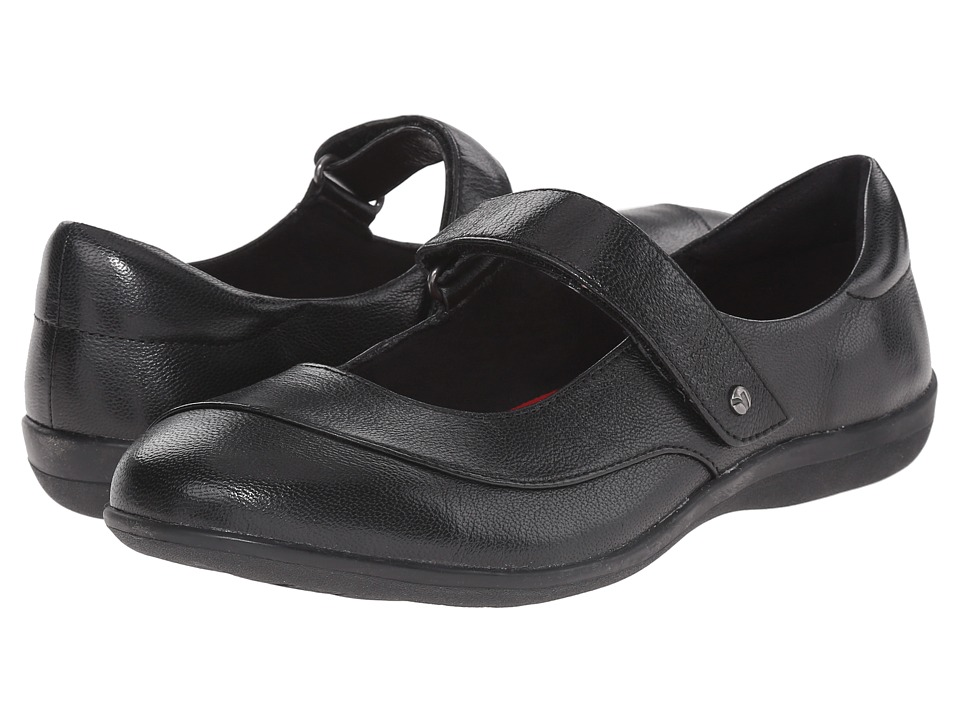 Revere - Amalfi (Black Goat) Women's Flat Shoes