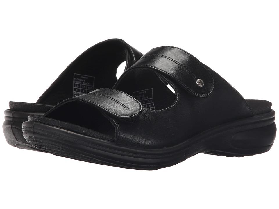 Revere - Florence (Black) Women's Flat Shoes
