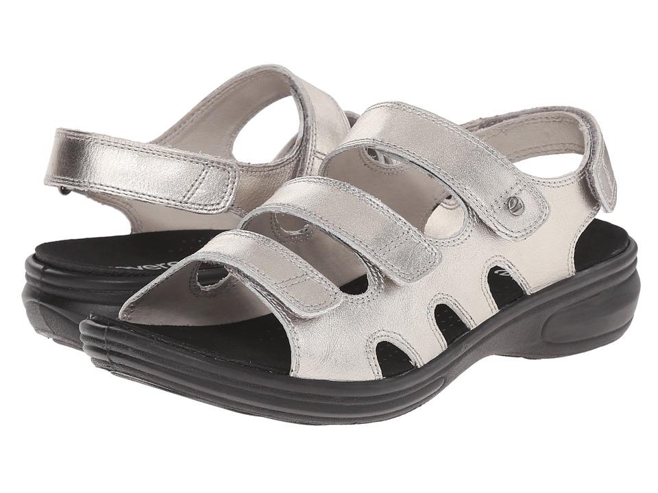 Revere - Capri (Pewter) Women's Flat Shoes