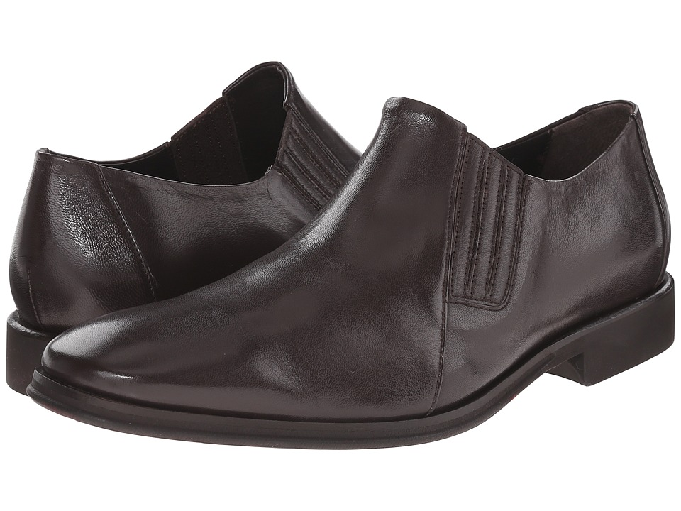Bruno Magli - Wade (Dark Brown) Men's Slip-on Dress Shoes