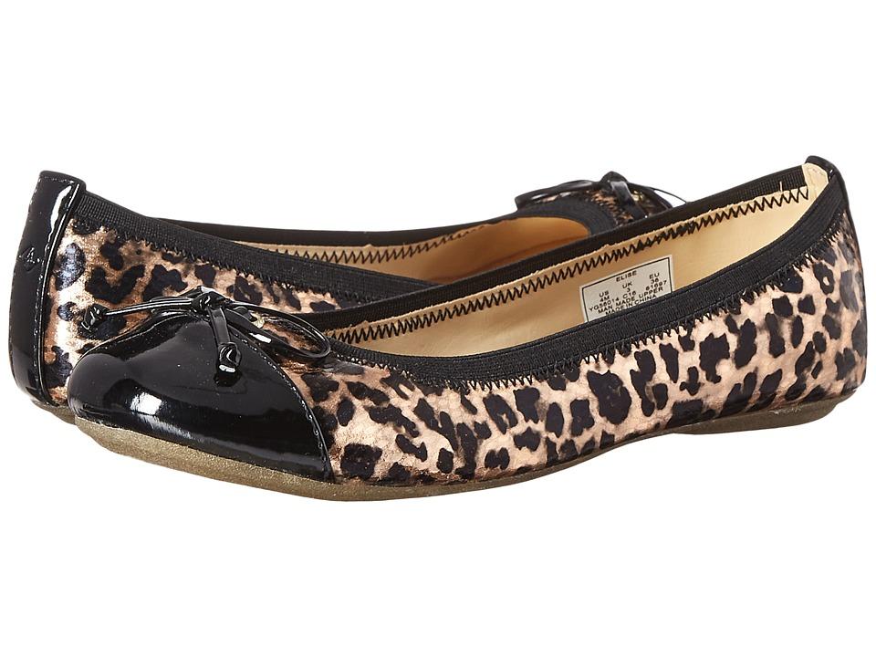 Sperry Kids - Elise (Toddler/Little Kid/Big Kid) (Rose/Leopard) Girls Shoes