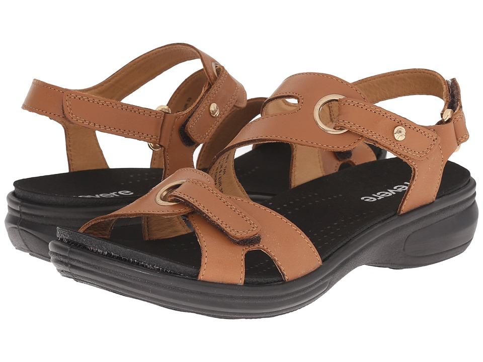 Revere - Sydney (Tan) Women's Flat Shoes