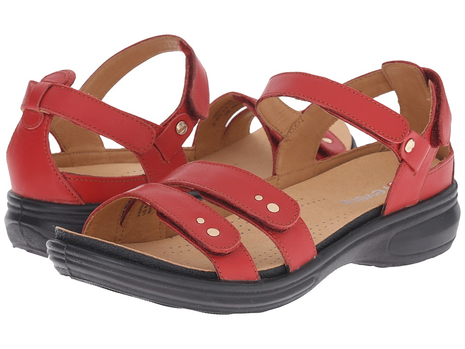 Revere - Vienna (Red) Women's Flat Shoes