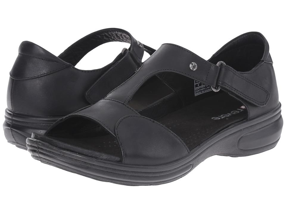 Revere - Venice (Black) Women's Flat Shoes