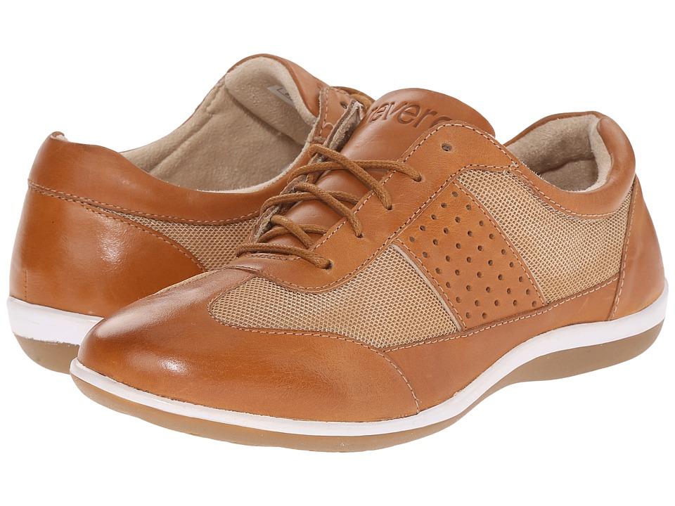 Revere - Seattle (Luggage Tan) Women's Flat Shoes