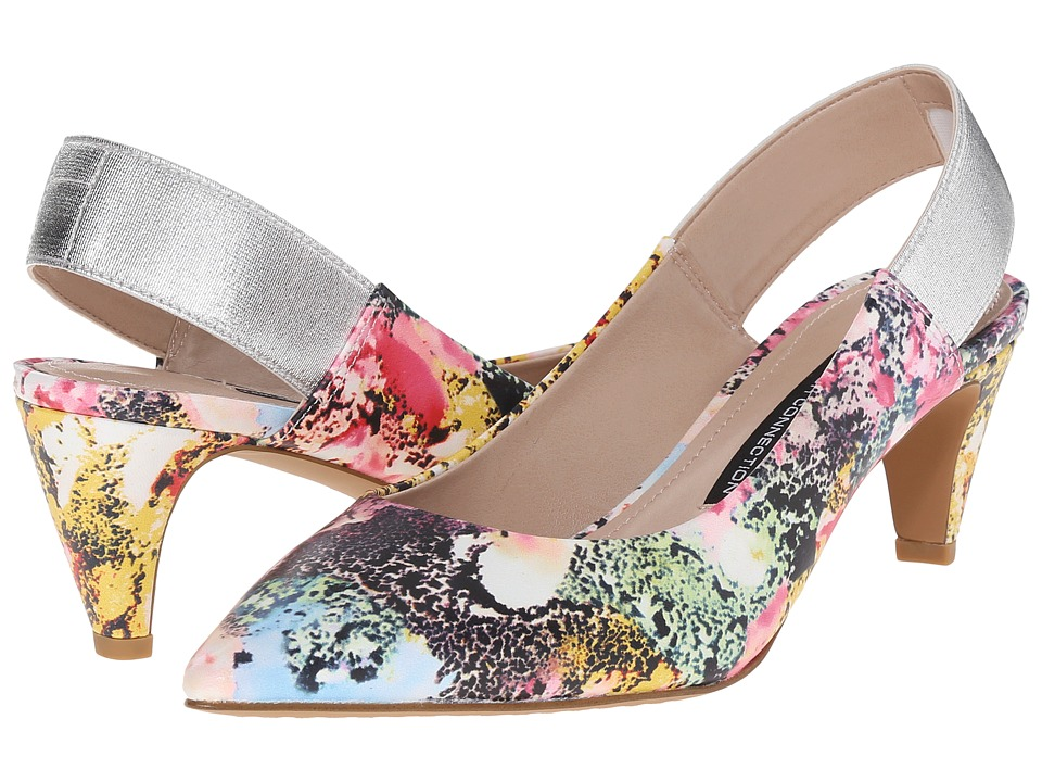 French Connection - Kourtney (Multicolor/Silver) Women's Shoes