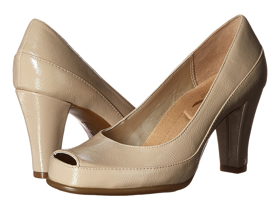 Aerosoles - Big Ben (Nude Patent) High Heels