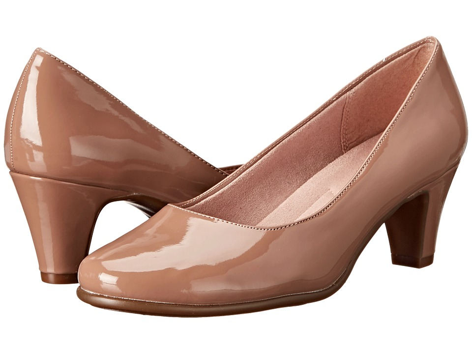 Aerosoles - Redwood (Tan Patent) High Heels