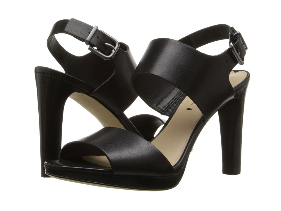 Via Spiga Renny (Black Leather) High Heels