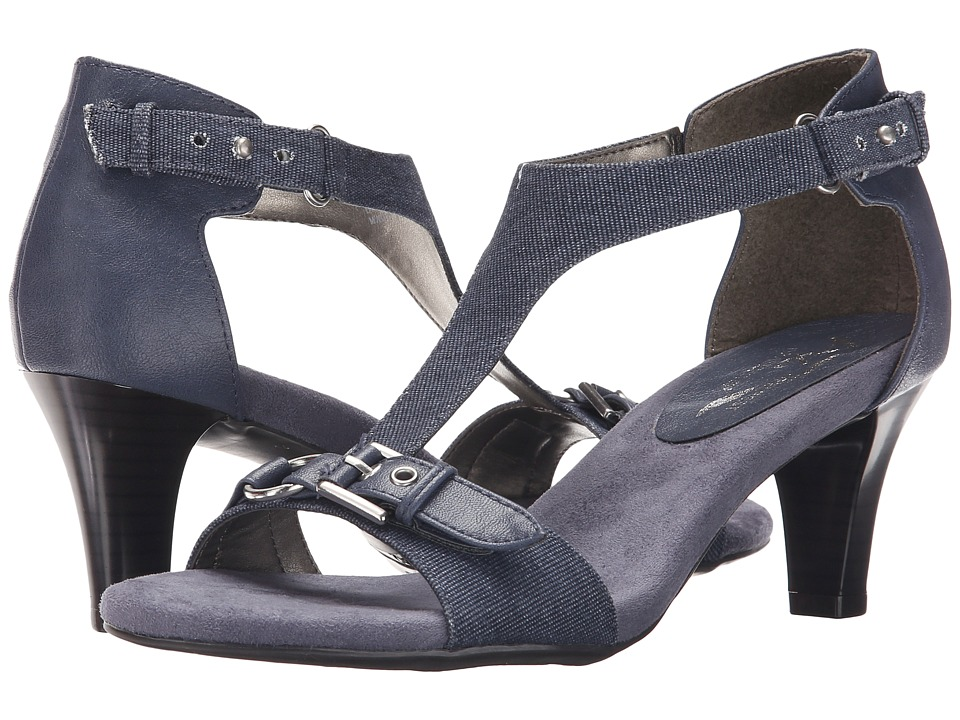 Aerosoles - A2 by Aerosoles Lollipowp (Chambray Blue Combo) High Heels