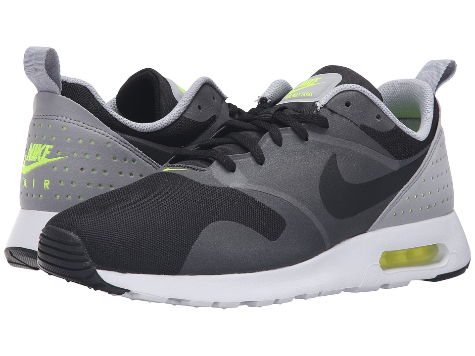 Nike - Air Max Tavas (Black/Black/Wolf Grey/White) Men's Shoes